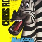 Madagascar (Marty) Original Movie Poster Double Sided 27 X40