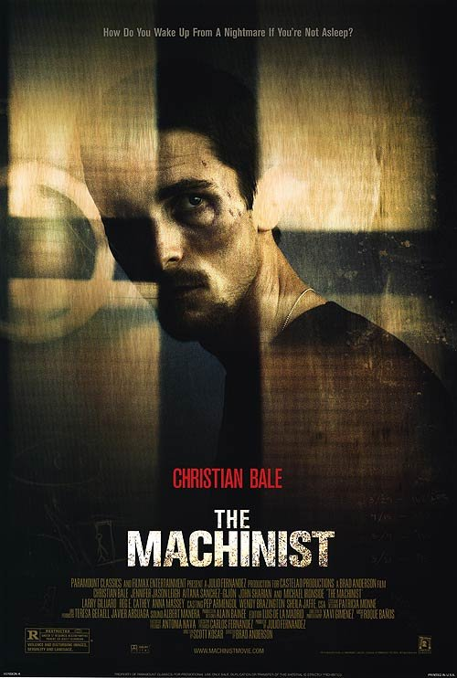 Machinist Original Movie Poster Single Sided 27x40