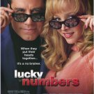 Lucky Numbers Original Movie Poster Double Sided 27x40