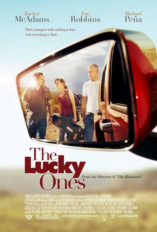 Lucky Ones The Original Movie Poster Double Sided 27x40