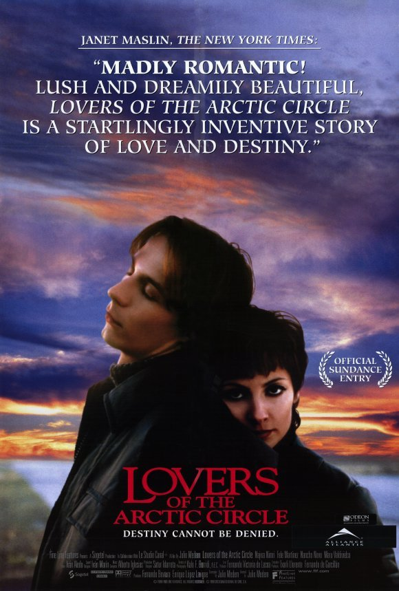 Lovers Of The Arctic Circle Original Movie Poster Single Sided 27x40