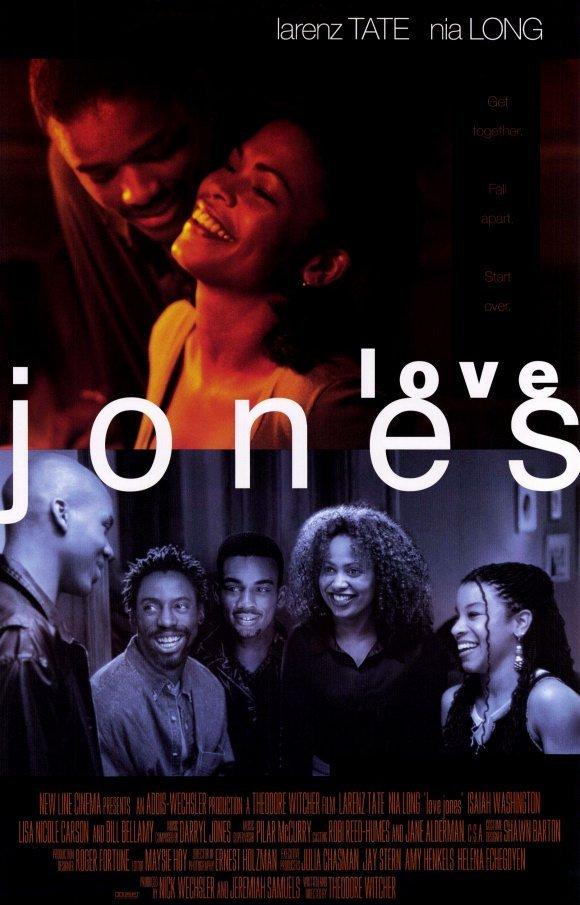 Love Jones Orig Movie Poster Double Sided 27x40