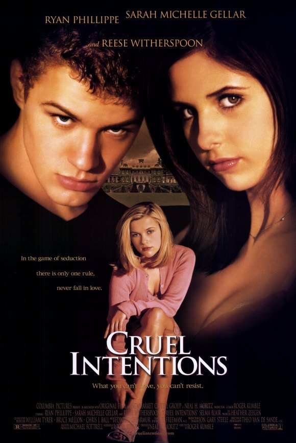 Cruel Intentions Regularl Double Sided Orig Movie Poster 27x40 -
