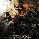 Conan the Barbarian Version B  Original Movie Poster  Double Sided 27 X40