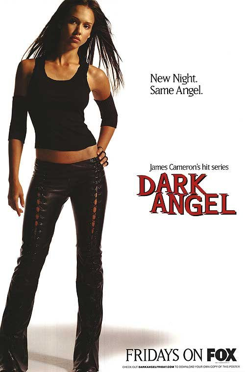 Dark Angel Tv Show Poster Original Movie Poster Single Sided 27 X40