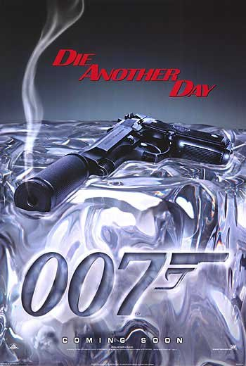 Die Another Day Advance Gun Original Movie Poster Double Sided 27 X40