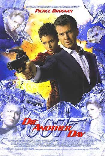 Die Another Day Intl Original Movie Poster Double Sided 27 X40