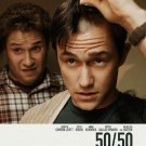 50/50 Original Movie Poster Double Sided 27x40
