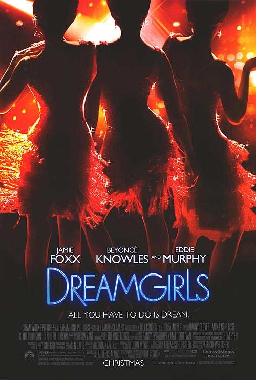 Dreamgirls Advance A Original Movie PosterSingle Sided 27x40