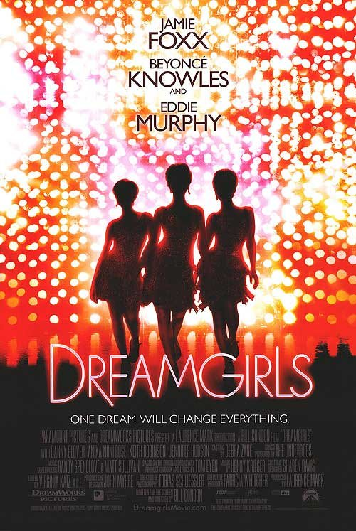 Dreamgirls Advance B Original Movie Poster Double Sided 27x40