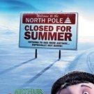 Arthur Christmas Advance Original Movie Poster Single Sided 27x40