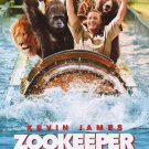 Zookeeper Intl Original Movie Poster Double Sided 27 X40