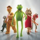 Muppets Advance Original Movie Poster Double Sided 27 X40