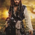 Pirates of the Caribbean : On Stranger Tides 2nd Advance Original Movie Poster  Double Sided 27 X40