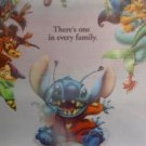 Lilo & Stitch  3D Lenticular Original Movie Poster 27x40