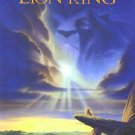 Lion King Original Movie Poster Double Sided 27x40