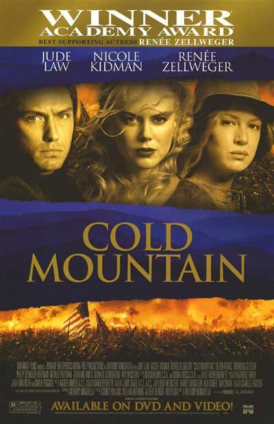 Cold Mountain Dvd Original Movie Poster Single Sided 27x40