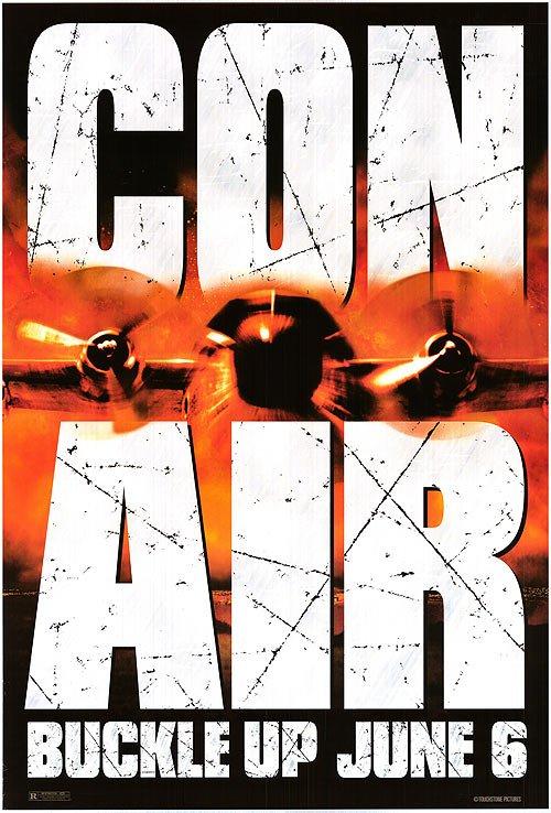 Con Air Original Movie Poster Single Sided 27x40