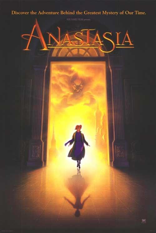Anastasia Original Movie Poster Double Sided 27x40