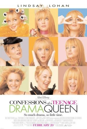 Confessions Of A Teenage Drama Queen Original Movie Poster Double Sided 27 X40