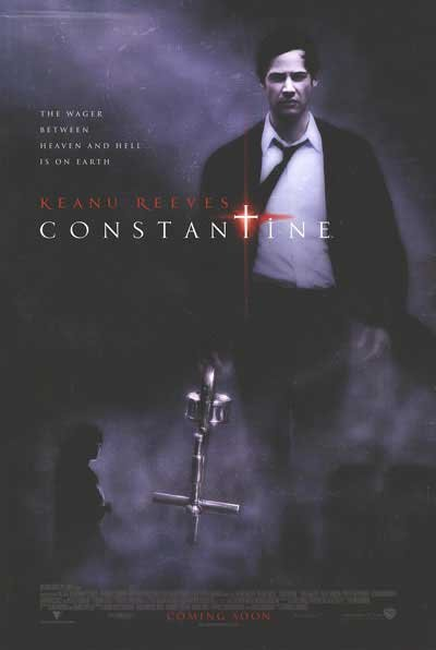 Constantine Original Movie Poster Double Sided 27x40