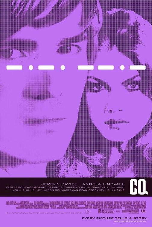 CQ Advance C Original Movie Poster Single Sided 27x40