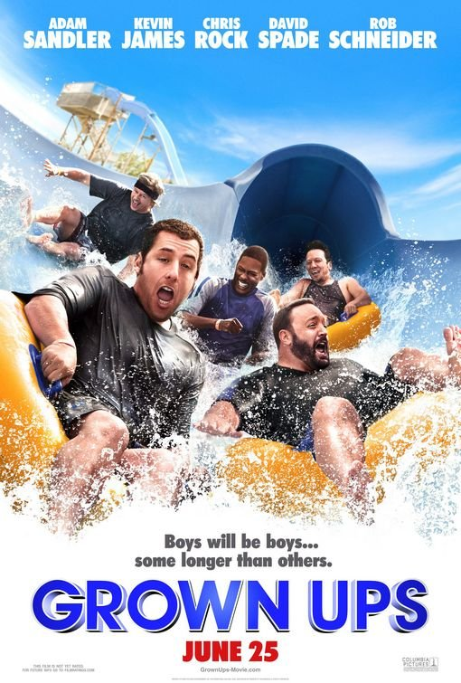 Grown Ups Advance Original Movie Poster Double Sided 27 X40