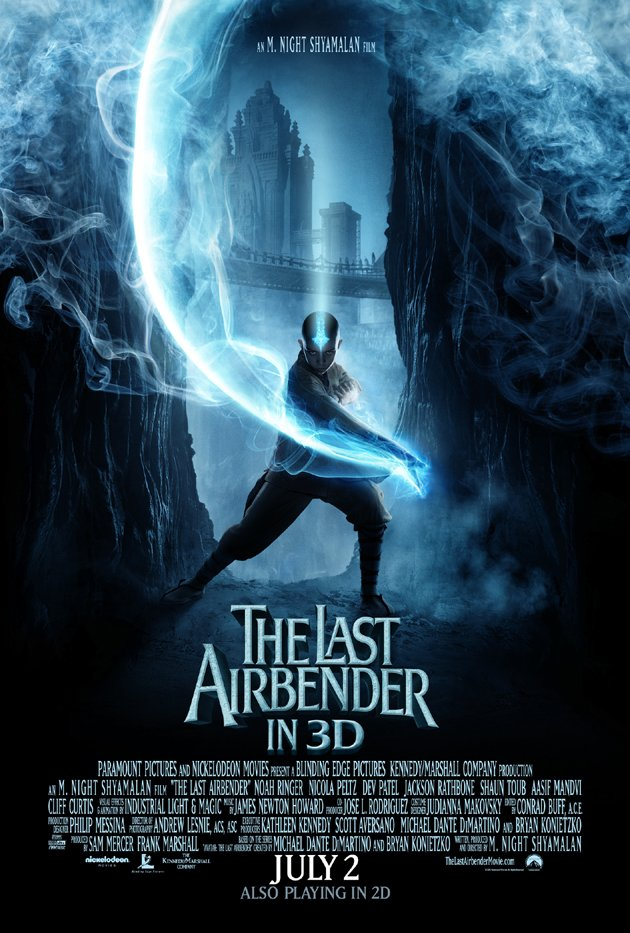 Last Airbender Final Original Movie Poster 27 X40 Single Sided