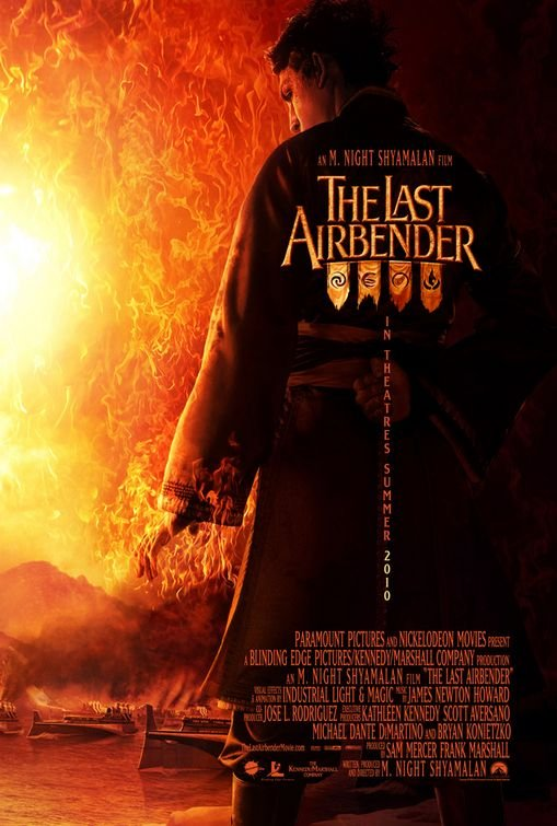 The Last Airbender Advance A Original Movie Poster Double Sided 27 X40