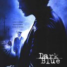 Dark Blue  Original Movie Poster Double Sided 27 X40