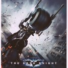 Dark Knight (Motorcycle )  Original Movie Poster Double Sided 27 X40