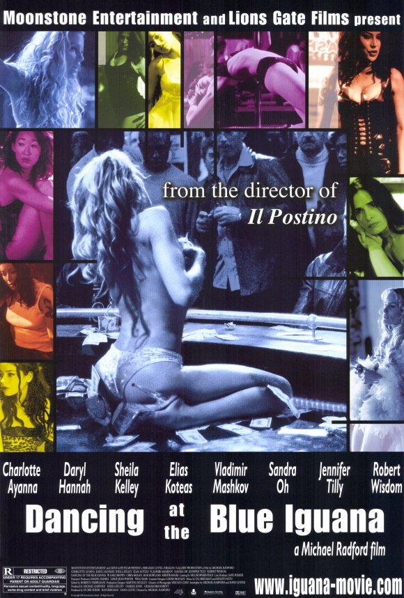 Dancing At The Blue Iguana Original Movie Poster 27 X40 Single Sided