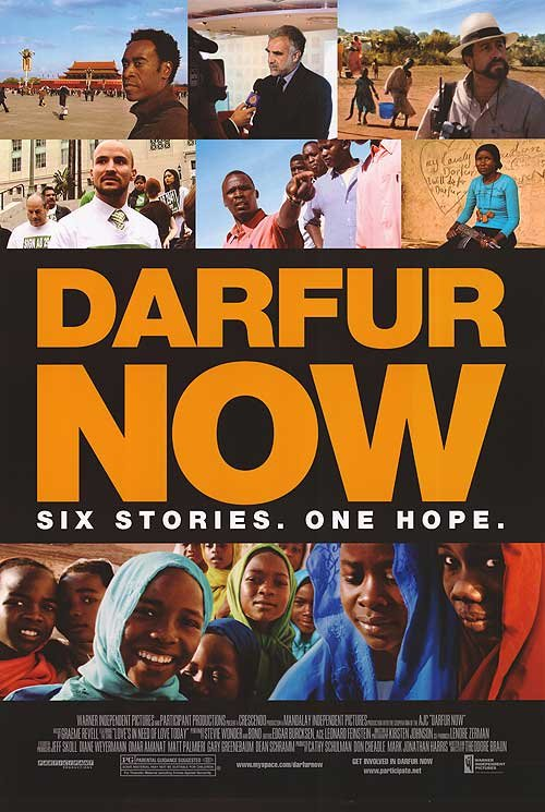 Darfur Now Original Movie Poster Double Sided 27x40
