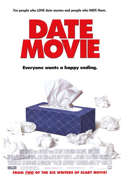 Date Movie Original Movie Poster Double Sided 27x40