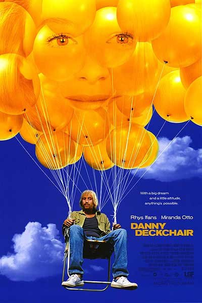 Danny Deckchair Regular Original Movie Poster Single Sided 27x40
