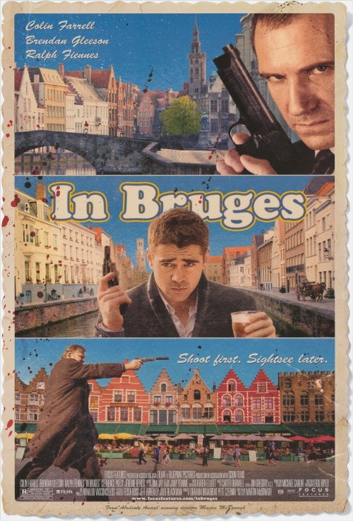 In Bruges Original Movie Poster Single Sided 11 x17