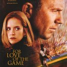 For The Love Of The Game Intl. Original Movie Poster Double Sided 27 X40