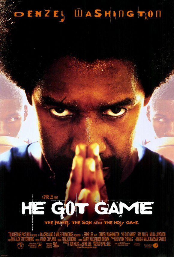 He Got Game Original Movie Poster  Double Sided 27 X40
