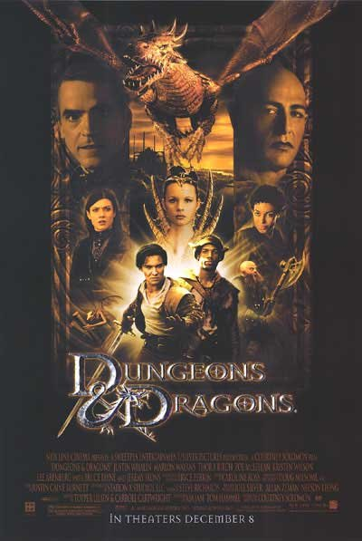 Dungeons & Dragons Original Movie Poster Single Sided 27x40