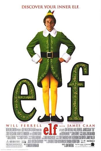 Elf Regular Original Movie Poster Double Sided 27 X40