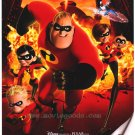 Incredibles Regular Original Movie Poster Single Sided 27x40