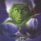 Grinch Advance B  Original Movie Poster Double Sided 27x40
