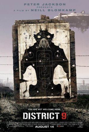 District 9 Advance Original Movie Poster Double Sided 27x40