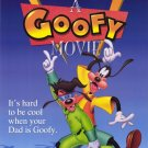 Goofy The Movie Blue Original Movie Poster Double Sided 27x40