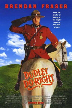 DUDLEY DO RIGHT DBL SIDED MOVIE Poster ORIG 27 X40
