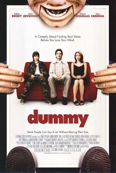 DUMMY  MOVIE Poster ORIG 27 X40 SINGLE SIDED