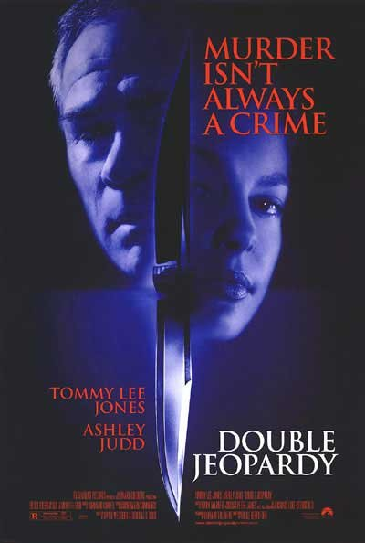 DOUBLE JEOPARDY DOUBLE SIDED MOVIE Poster ORIG 27 X40