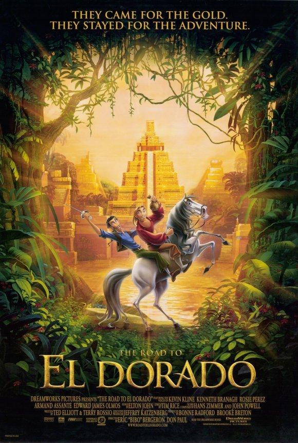 ROAD TO EL DORADO ADVANCE  Movie Poster  27X40 DS ORIGINAL