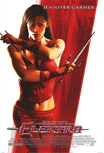 ELEKTRA Movie Poster  27X40 ORIGINAL SINGLE SIDED