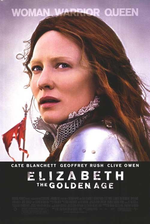ELIZABETH : THE GOLDEN AGE Movie Poster  27X40 ORIG DS
